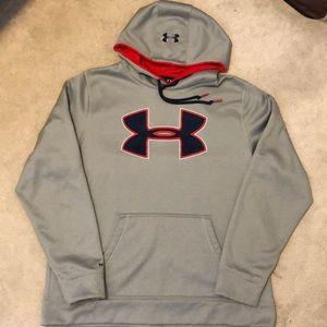 Men's Under Armour storm hooded sweatshirt